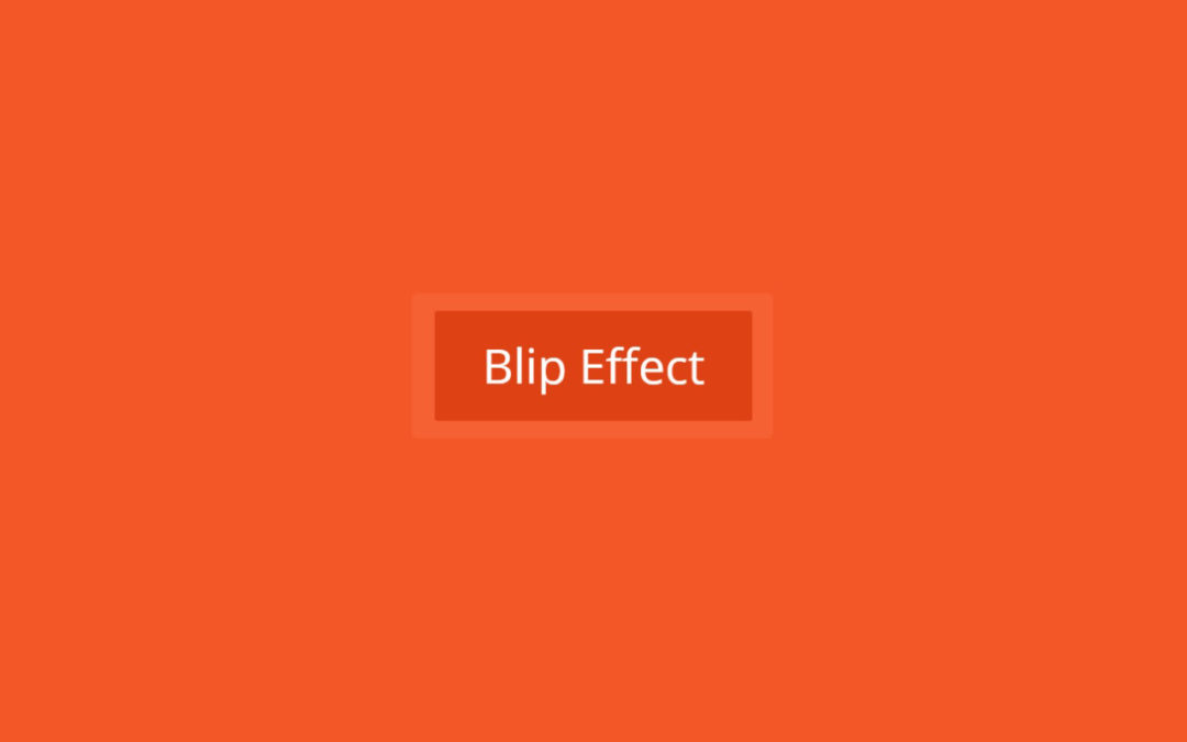 Apply the Blip Effect To Divi Button Module