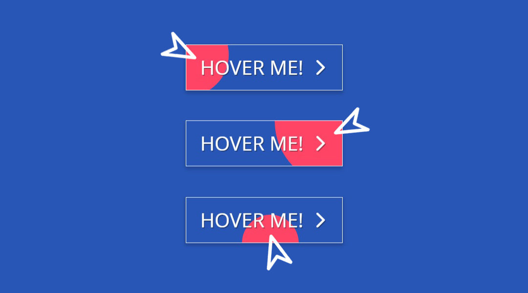 Position Aware Hover Effect for Divi Button