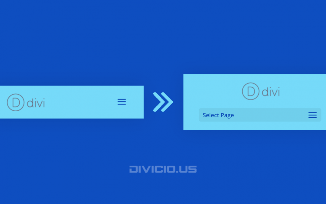 Turn Divi Default Header Into Centered Header On Mobile Screens