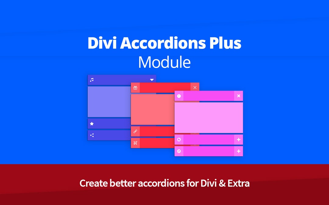 Divi Accordions Plus Module