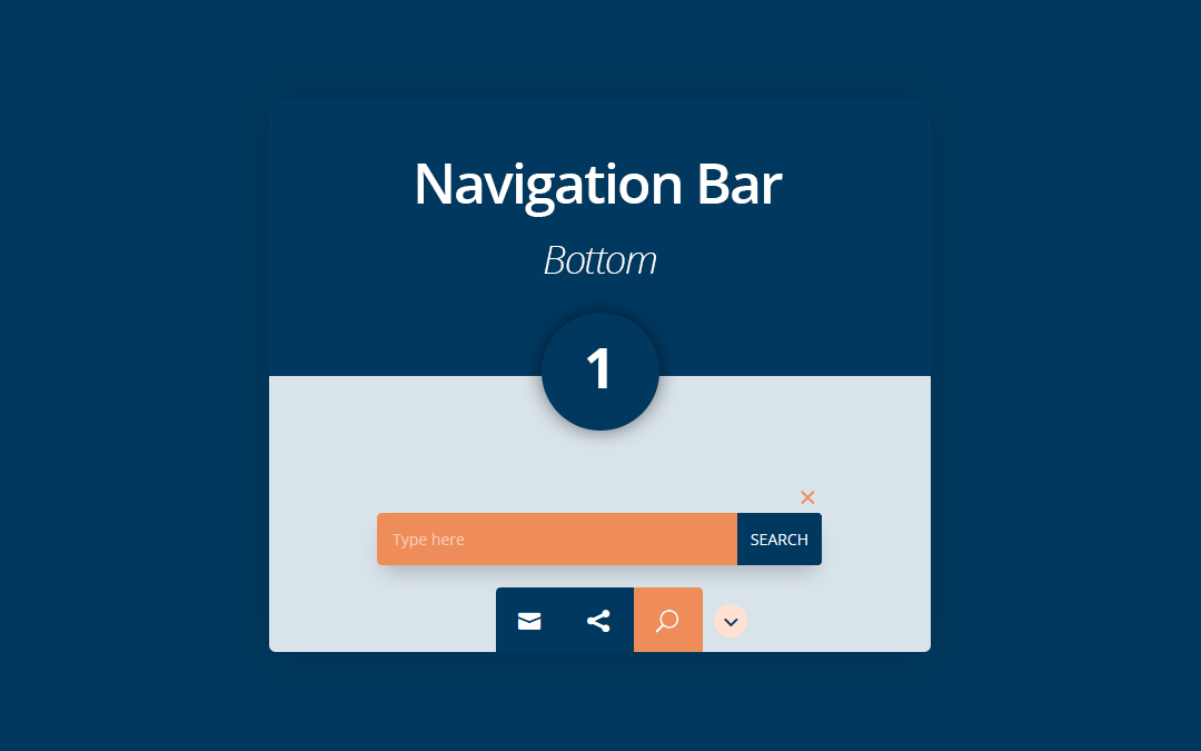 Bottom Navigation Bar 1