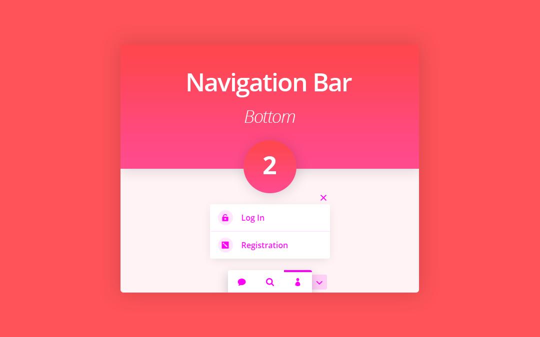 Bottom Navigation Bar 2