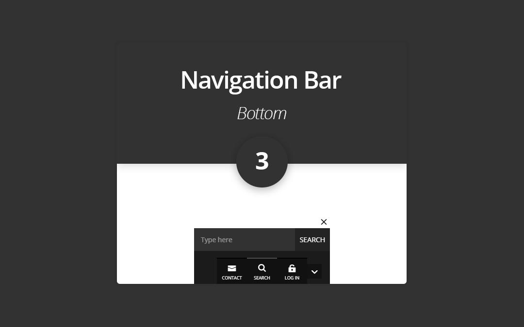 Bottom Navigation Bar 3