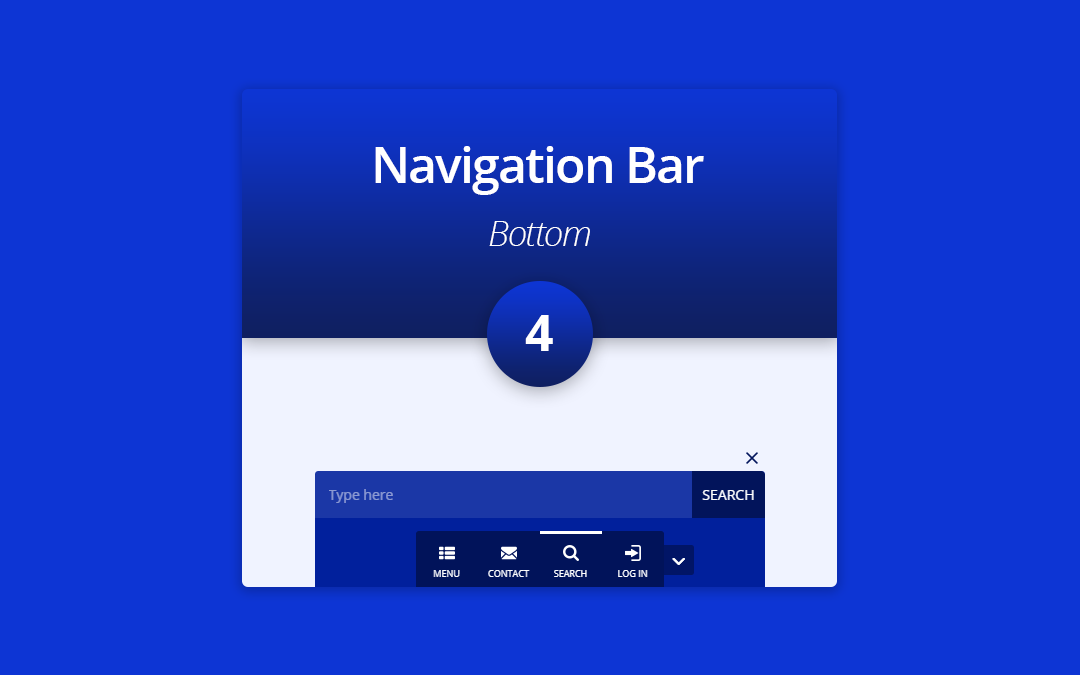 Bottom Navigation Bar 4