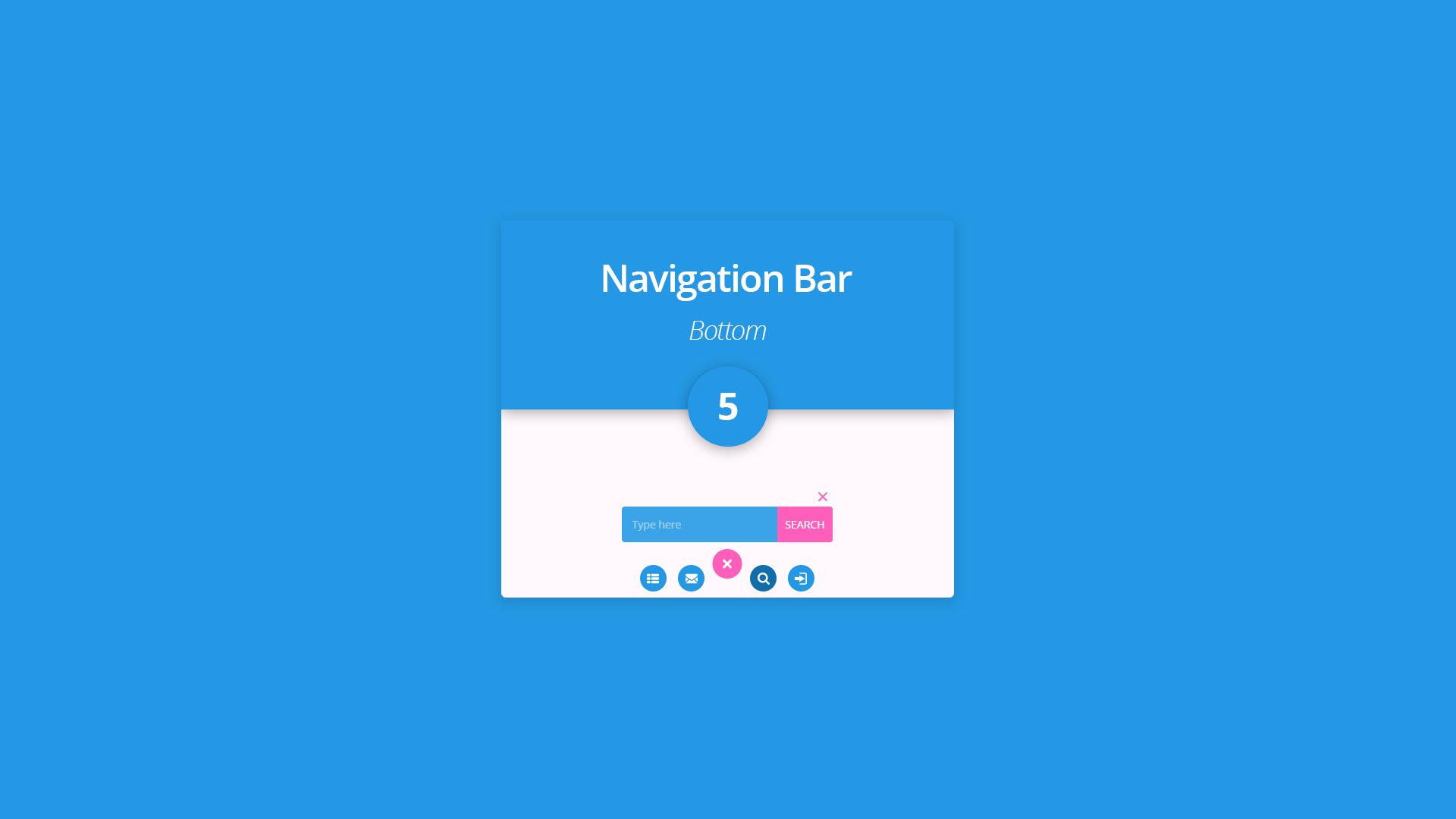 New Divi Section Layout: The Bottom Navigation Bar 5